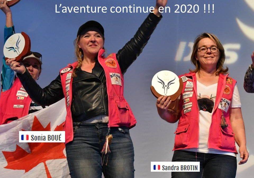 Le cabinet HERPIN-ZGAOULA, sponsor de l'équipage 233 du Rallye des Gazelles, édition 2020